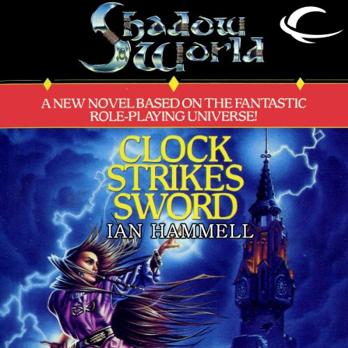 Clock Strikes Sword audiobook cover art