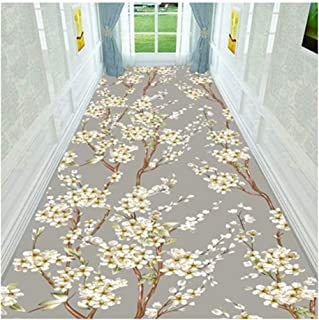 Non-Slip Carpet YANZHEN Hallway Runner Rugs Non-Slip Backing Water Absorption Soft Front Door Bathroom Anti-Static Noise R...