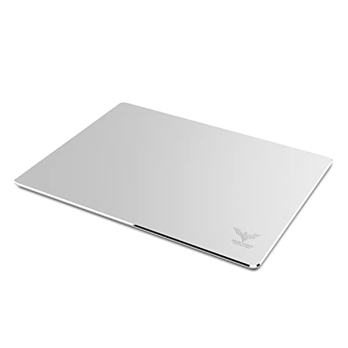 HAVIT HV-MP835 Aluminium Gaming Mouse Pad with Anti-Skid Rubber Base - Silver