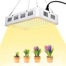 EECOO 1200W LED Cultivo Interior, Plantas Led Grow Light 120LED, Lámpara de Plantas Espectro Completo Ligero Lampara con Como el sol, Lampara de Cultivo para Jardín de Interior Greenhouse Hydroponics