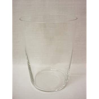 Dkristal Lote 6 Vasos Sidra Cristal Transparente Grueso BIDASOA 500ML