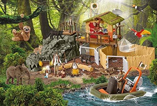 Y-fodoro Puzzles Puzzle Klassische Puzzles 1000 Teile Adultwooden Puzzle Station Croco Game Puzzles für Kinder und Erwachsene Spielzeug