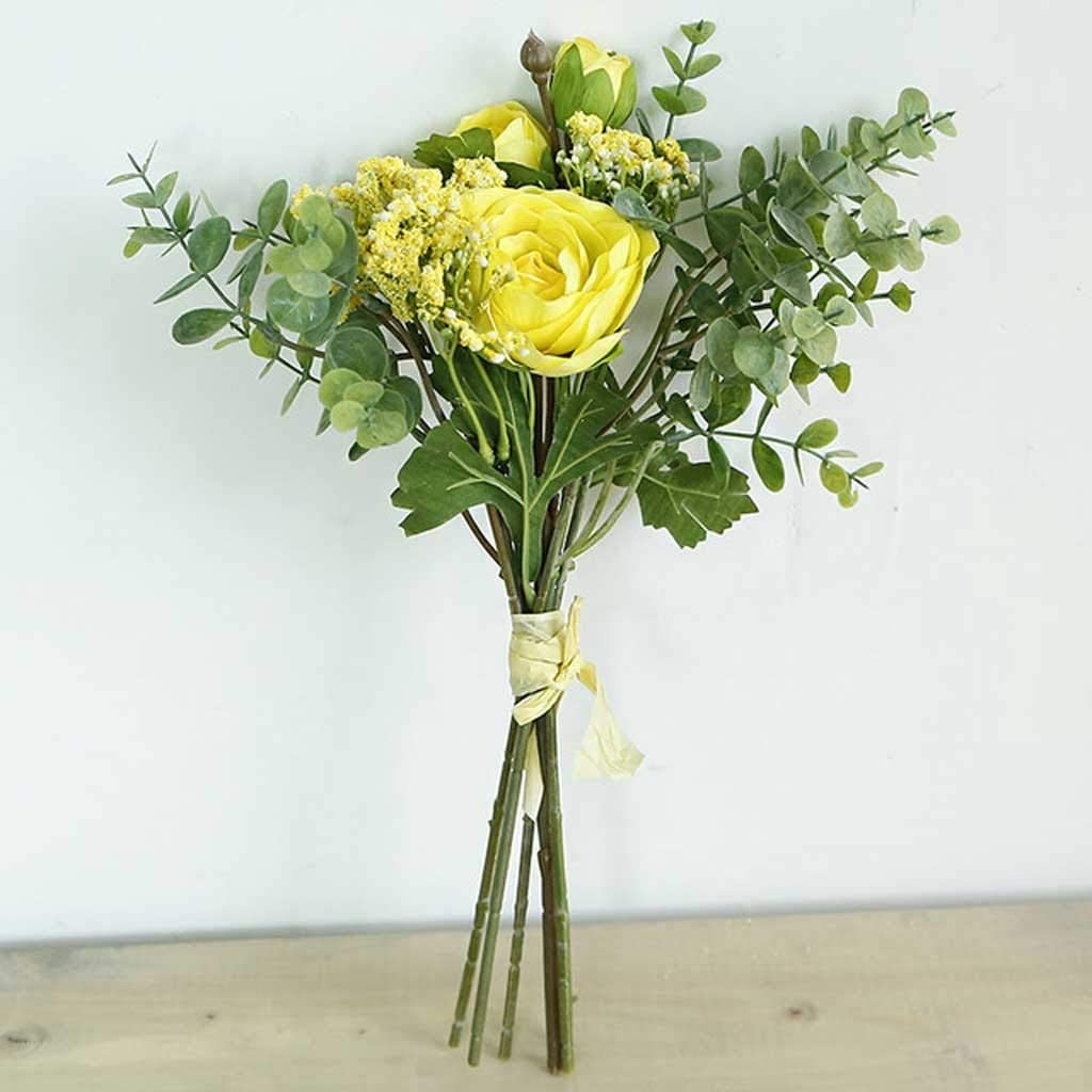 Purchase TJLSS Roses Artificial Flower Award Hybrid Fake Bridal Bouquet