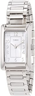 Timex Meriden 21mm Womens Silver-Tone Expansion Band Watch