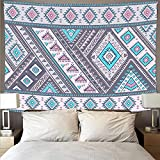 Bohemia estilo mandala tapiz arte psicodélico colgante de pared toalla de playa manta tela colgante tela de fondo A5 73x95cm