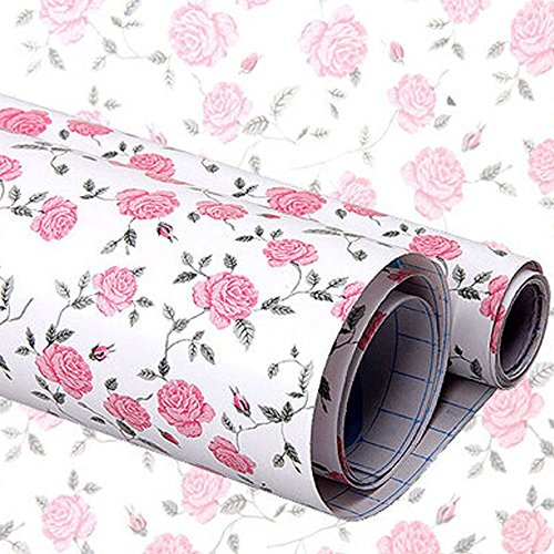 YIZUNNU Self Adhesive Shelf Liner Shelf Paper Drawer Liner 17.7x78.7Inch