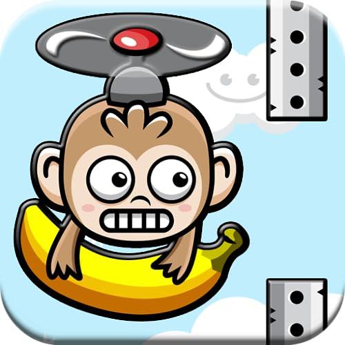 Banana Monkey Swing Copter