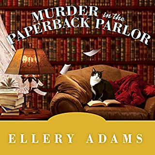 Murder in the Paperback Parlor audiobook cover art