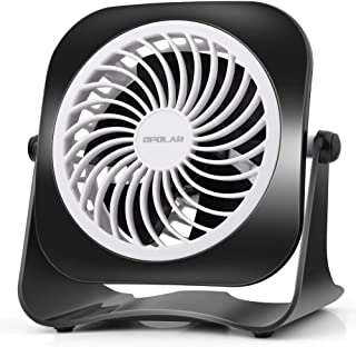 Sponsored Ad – OPOLAR 4 Inch Mini USB Desk Fan, 2 Speeds, Lower Noise, USB Powered, 360° Up and Down, 3.8 ft Cable, Powerf...