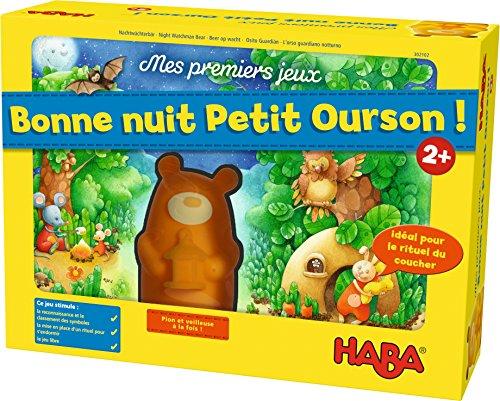 HABA-Mes Premiers Jeux Bonne Nuit Petit Ourson, 302102