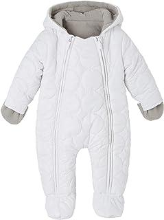 343f7645b7043 VERTBAUDET Combinaison - pilote bébé matelassée et doublée polaire Blanc 6M  - 67CM