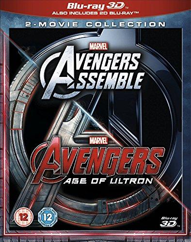 Avengers Assemble / Age of Ultron (3D) [Blu-ray] [UK Import]