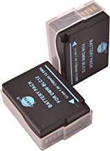 DSTE アクセサリ Panasonic DMW-BLC12 BP-DC12 互換 カメラ バッテリー 2個 対応機種 Lumix DMC-G5 DMC-G6 DMC-G7 DMC-GH2 DMC-FZ200 [並行輸入品]