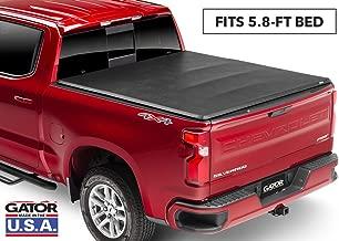 Gator ETX Soft Tri-Fold Truck Bed Tonneau Cover   59104   fits Chevy/GMC Silverado/Sierra Crew Cab 2004-06, 07 Classic (5 ft 8 in bed)