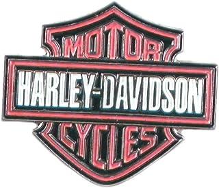 Spilla in metallo smaltato con logo Harley Davidson Insignia
