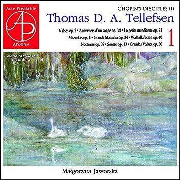 Thomas Tellefsen: Complete Piano Works 1