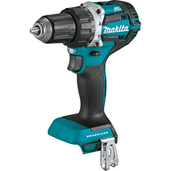 "Makita XFD12Z 18V LXT Lithium-Ion Brushless Cordless 1/2"" Driver-Drill, Tool Only,"