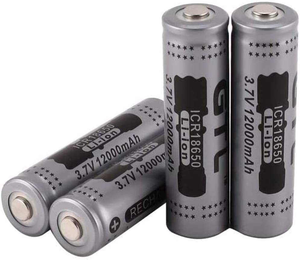 Battery 18650 Rechargeable Lithium 3 7 Special sale item Flashl V Mah 2500 Minneapolis Mall