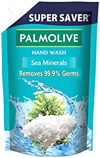 Palmolive Naturals Sea Minerals Liquid Hand Wash, 750ml Refill Pack, Remove 99.9% of Germs, Refreshing Fragrance