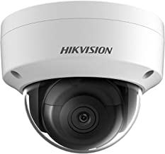 HIKVISION 4.0MP IP Camera Face Detection H.265+ Outdoor Dome Security Camera IP67 Waterproof English Firmware Upgradeable DS-2CD2143G0-I(2.8mm Lens)