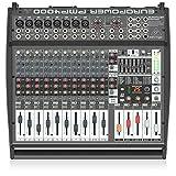 Behringer PMP4000 mezclador DJ - Mezclador para DJ (109 Db, 24 Bit, 46,875 kHz, 0,002%, 1050W, 47,6...