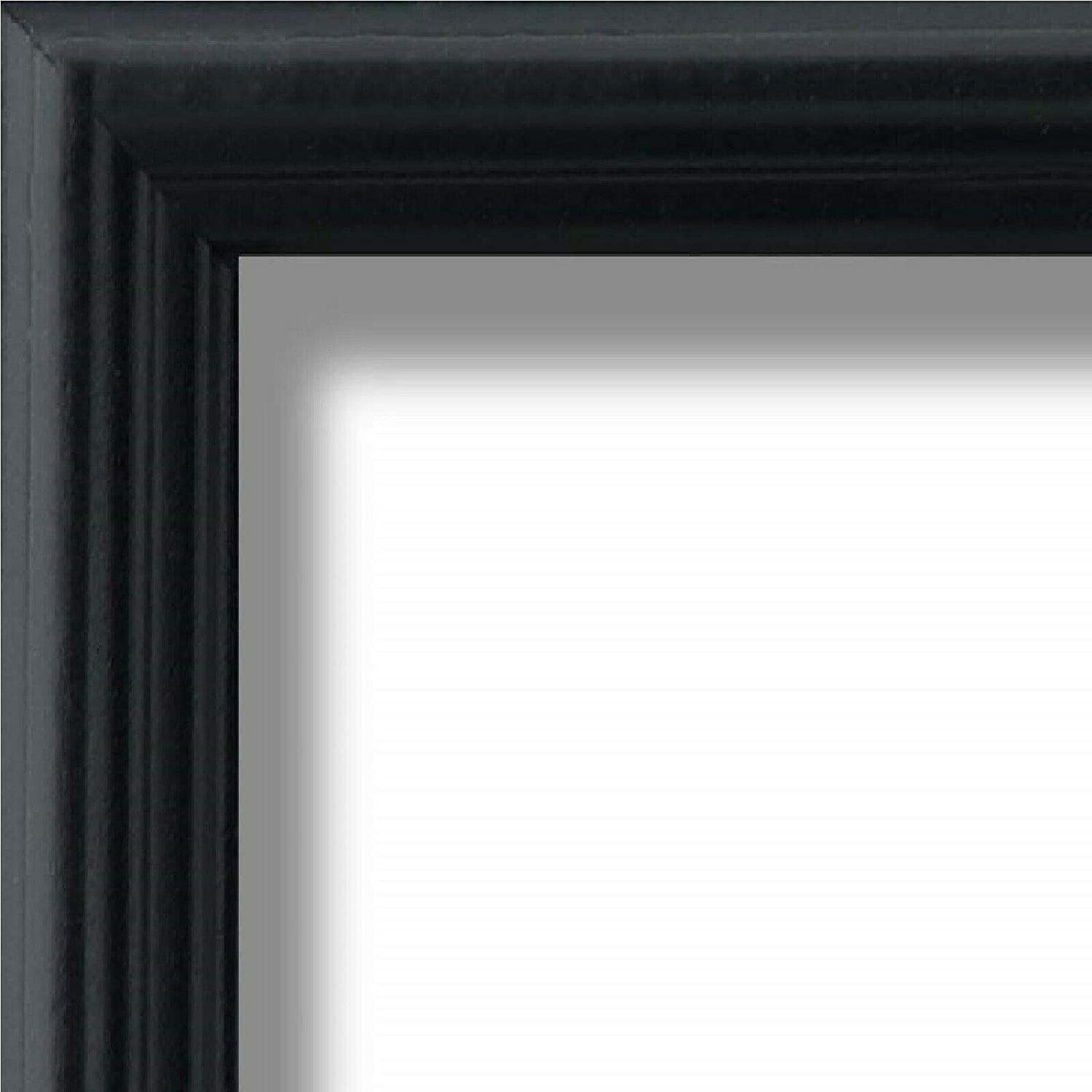US Art shopping Deluxe Frames 18x28 Traditional Style Inch Wide Black .75 Thin