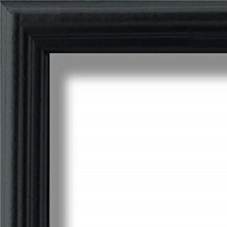 US Art Frames 13x20 Traditional Style Black Thin .75 Inch Wide, Sold Popler Wood, Wall Decor Picture Poster Photo Frame