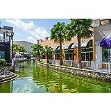 SANSHUI Jigsaw Puzzle Caribe Viajes De Vacaciones De Madera De Alta Dificultad Paisaje Turístico Juguete Conmemorativa 500/1000/1500/2000/3000/4000/5000 Piezas 1009 (Size : 500 Pieces)
