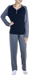 Pijama feminino de inverno com botões em viscolycra Victory 19120