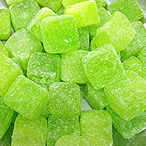 sour apple cubes (250g) from lovisweets Sour Apple Cubes (250g) from LoviSweets 61QCVjwIGKL