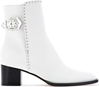 GIVENCHY Luxury Fashion Womens BE601DE00C100 White Ankle Boots | Fall Winter 19