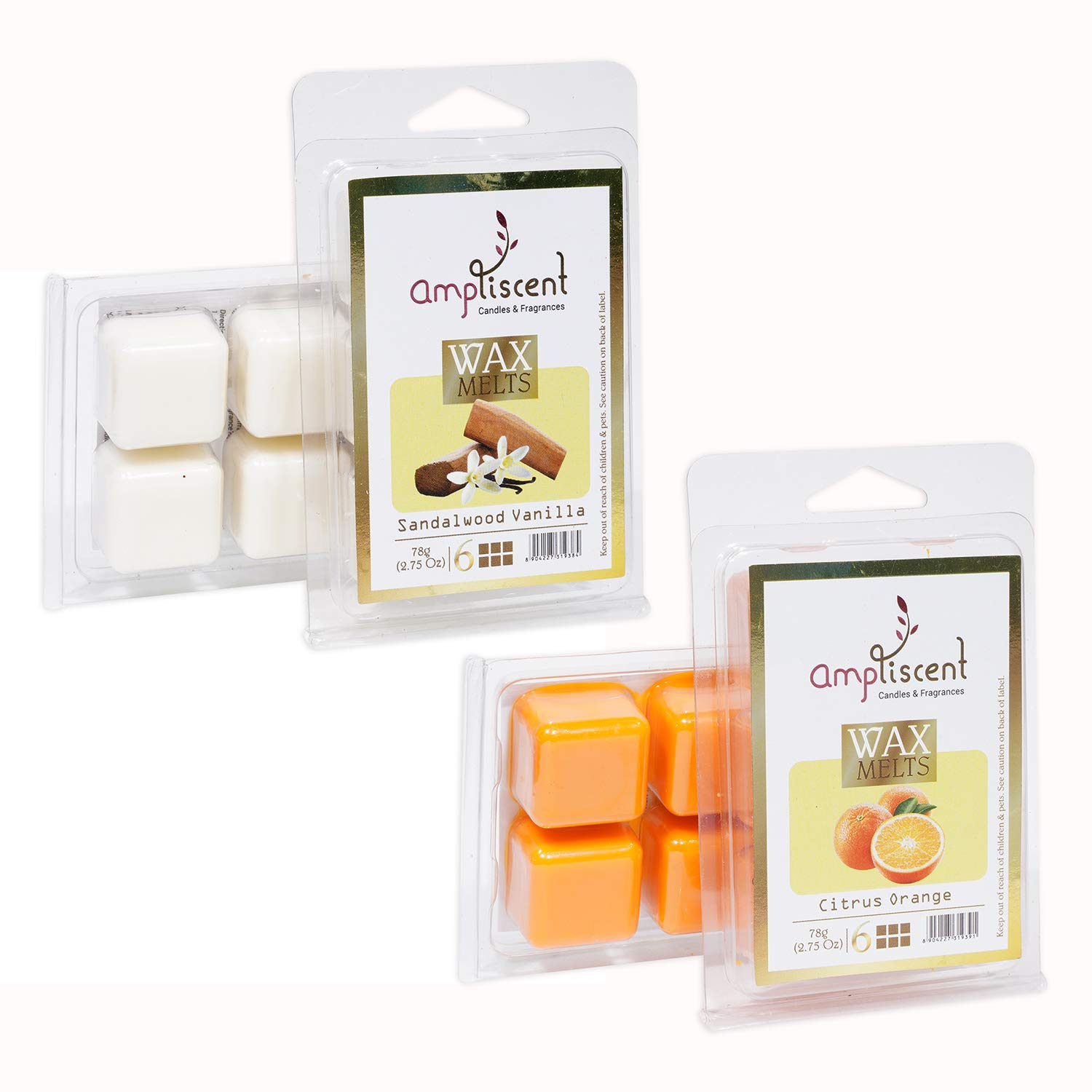 Ampliscent 5 ☆ popular Scented Wax Melts -Wax Cubes Air Fr Warmer Candle Max 55% OFF