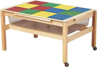 Childcraft Sand and Water Table Preschool Grid Top Cover, 42-3/8 x 30-1/8 Inches, Table Sold Separately
