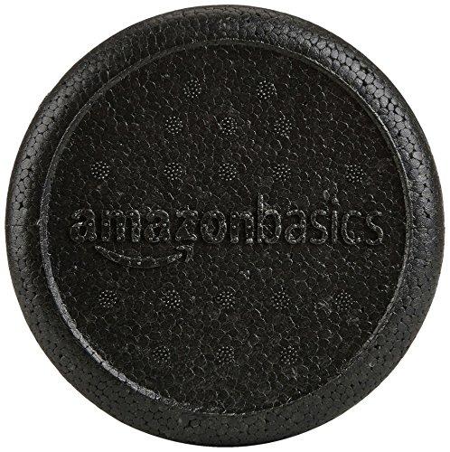 Product Image 3: Amazon Basics High-Density Round Foam Roller, 36 Inches, Black