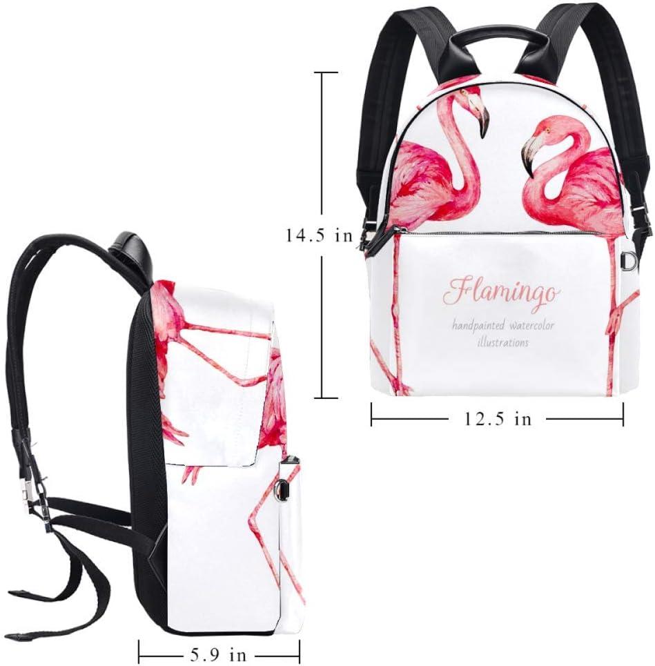 Tizorax Sac à dos en cuir pour homme, femme, fille, garçon, sac à dos Motif 1 14.5x12.5x5.9in Motif 2