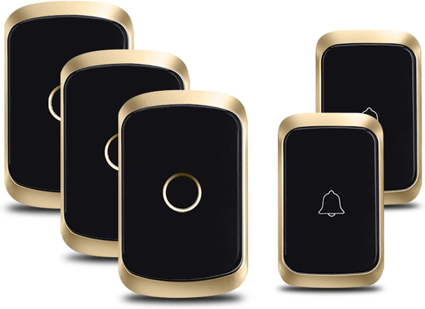 QGGESY Wireless Doorbell Wall Plug-in Cordless Chime Cash special price Waterp 25% OFF Door