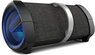 INSTAPLAY Powerful 50W Portable Party BLUETOOTH Speaker with Flashing Lights, USB, FM & AUX