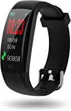 SZMDLX Fitness Tracker, Touch Activity Tracker Smart Bracelet | IP68 Waterproof | GPS | Remote Control Camera Music | Weather Forecast | Heart Rate | Sleep Monitor | Pedometer Calorie Watch for Kids Women Men
