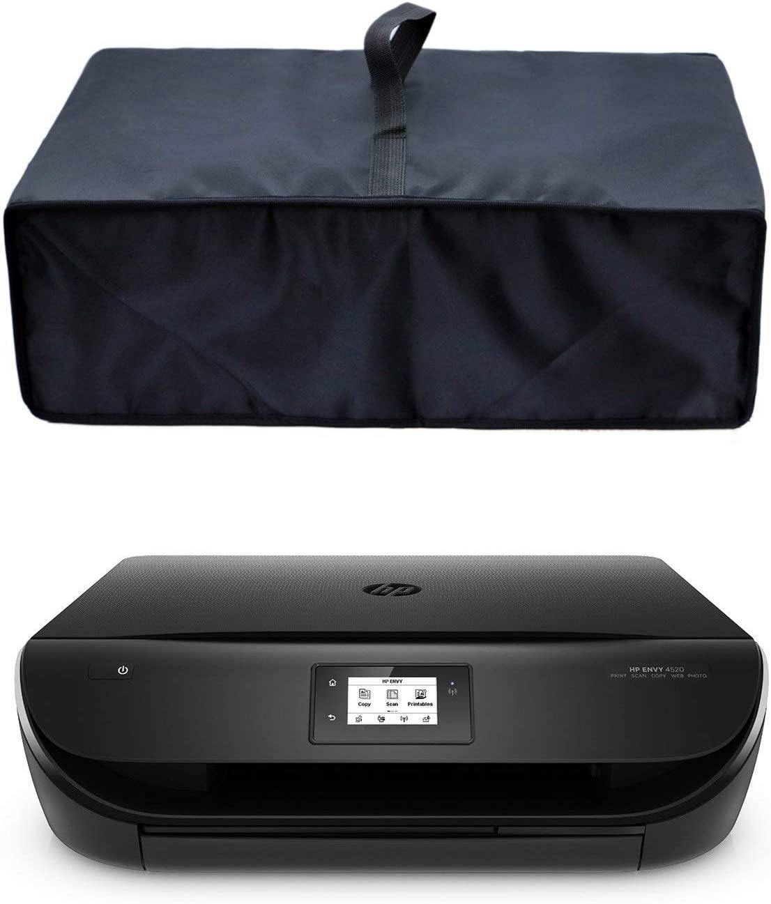 LQSC Nylon Fabric Printer Dust Cover Case Protector for HP Envy 5055/ HP Envy Pro 6455 Wireless All-in-One Photo Printer