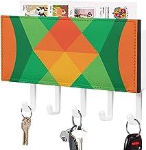 Crochet de clé fixé au mur, support mural de trieuse de courrier, organisateur de porte-clé de courrier, décoration de tri...