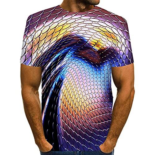 SSBZYES Camiseta para Hombre Camiseta De Cuello Redondo para Hombre Camiseta De Gran Tamaño para Hombre Camiseta Holgada para Hombre Camiseta Cómoda De Verano para Hombre