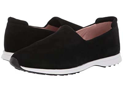 Taryn Rose Briella (Black Stretch Suede) Women