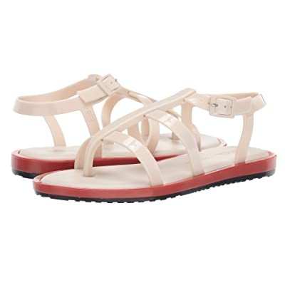 Melissa Shoes Caribe Verao + Salinas (Off-White/Terracotta) Women