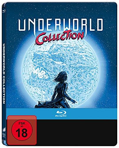 Underworld 1-5 (Limited Steelbook Edition) [Blu-ray]
