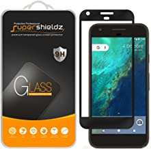 Supershieldz for Google Pixel XL Tempered Glass Screen Protector, (Full Screen Coverage) 0.33mm, Anti Scratch, Bubble Free (Black)