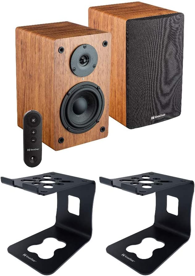 Knox Gear LP1 Powered Selling rankings Bookshelf Speakers Bundle Bluetooth Pair Price reduction