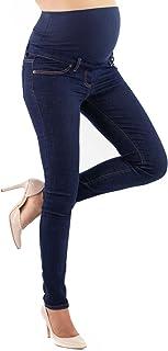 Milano Basic - Jeans Premaman Basico, Super Elastico e Comodo, vestibilità Skinny, Lavaggio Basic, Tanti Colori - Made in ...