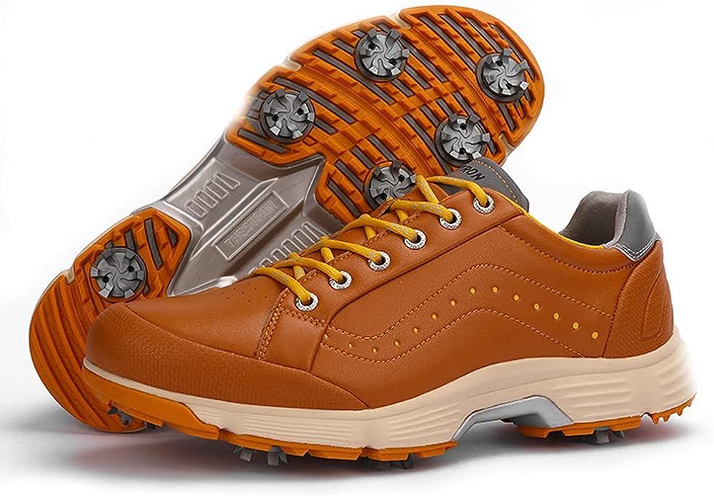 Mail order ZAKEY Professional Golf Shoes Spikes for White Waterpr mart Black Men