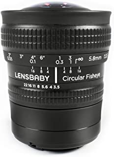 Lensbaby LB-CFEF Circular Fisheye Lens for Fuji X Camera