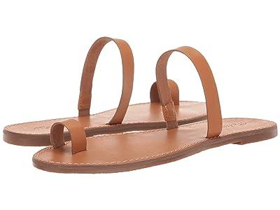 Madewell Boardwalk Bare Slide Sandal (Desert Camel) Women